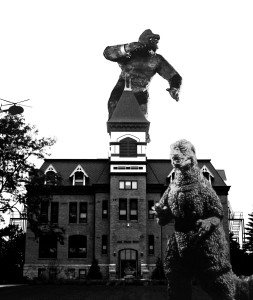 king kong and gozilla on old main 05 copy