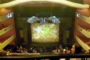 Students take in Wicked